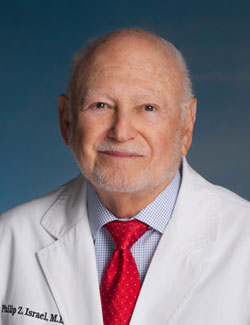 Philip Z. Israel, MD, FACS, of The Philip Israel Breast Center\